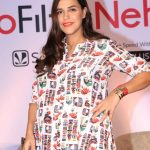 "Mumbai: Actress Neha Dhupia at the press conference of Saavn's ""#NoFilterNeha Season 3"" in Mumbai on Oct 8, 2018.(Photo: IANS) by ."