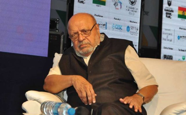 Kolkata: Filmmaker Shyam Benegal attends a session on `Coding and Decoding - The Netaji Mystery` during 40th International Kolkata Book Fair in Kolkata on Feb 5, 2016. (Photo: Kuntal Chakrabarty/IANS) by .