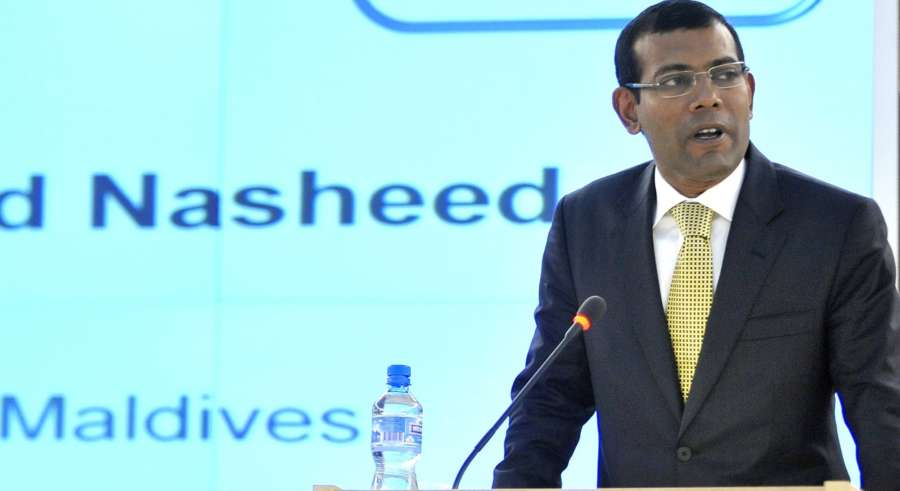 Former Maldives President Mohamed Nasheed (Photo: UN/IANS) by .