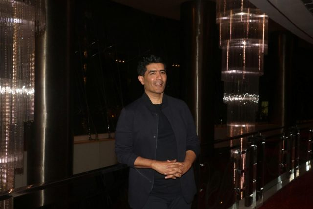 Mumbai: Fashion designer Manish Malhotra at the Wedding Junction Preview Panel Discussion in Mumbai on Aug 12, 2018. (Photo: IANS) by .