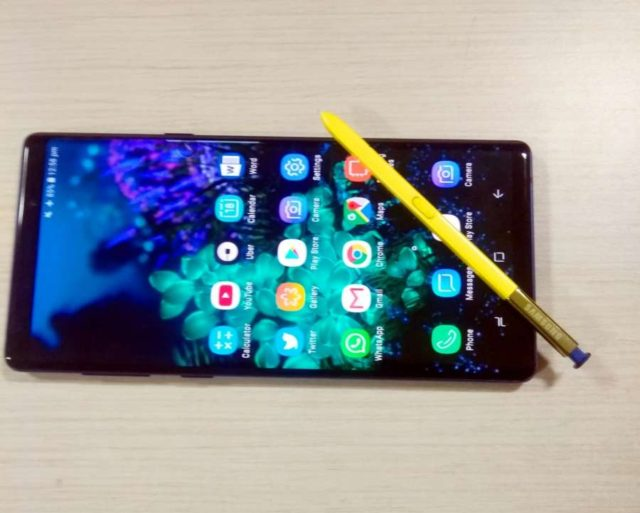 Samsung Galaxy Note 9. by .