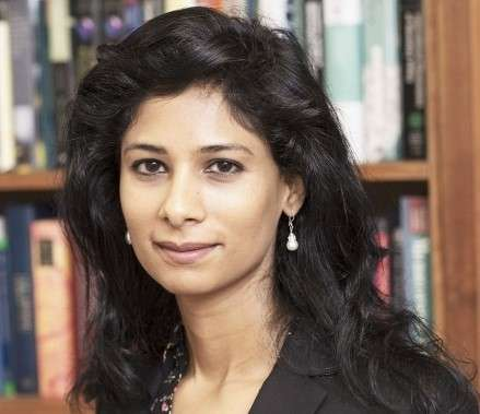 Gita Gopinath is the new Economic Counsellor and Director of the International Monetary Fund's Research Department. (Photo: Harvard University) by .