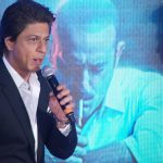 """Mumbai: Actor and producer Shah Rukh Khan during the promotion of his upcoming film """"Ittefaq"""" in Mumbai on Oct 30, 2017.(Photo: IANS) by ."""