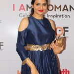 "Mumbai: Actress Madhoo Shah during the ""I Am Woman Awards 2017"", in Mumbai on April 27, 2017. (Photo: IANS) by ."