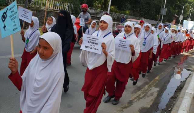 NEPAL-KATHMANDU-INTERNATIONAL DAY OF GIRL CHILD by .