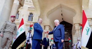 IRAQ-BAGHDAD-PRESIDENT-POWER-HANDOVER CEREMONY by .