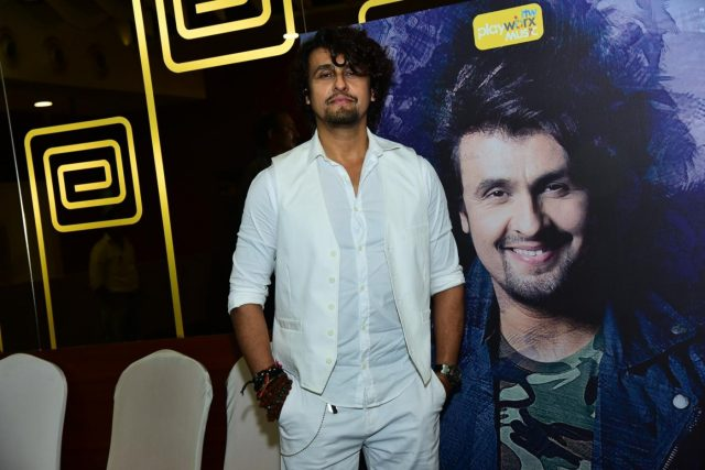 Mumbai: (L to R) Singer Sonu Nigam at the launch of multi artist collaboration single