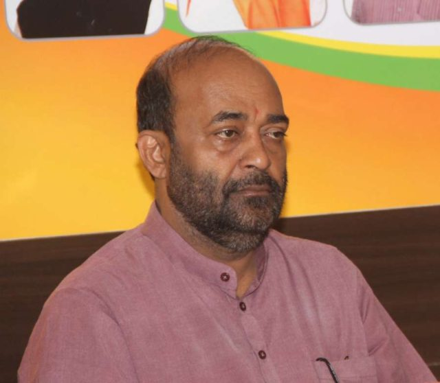 Goa BJP chief Vinay Tendulkar. (File Photo: IANS) by .