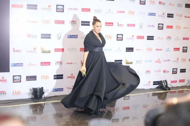 Mumbai: Actress Neha Dhupia at the Red Carpet for the Grand finale of Miss India 2018 in Mumbai on June 19, 2018. (Photo: IANS) by .