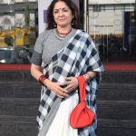 Mumbai: Actress Neena Gupta seen outside a Mumbai cinema hall on Oct 19, 2018. (Photo: IANS) by .