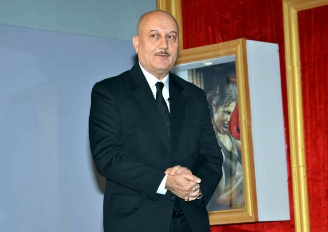 Actor Anupam Kher. (File Photo: IANS) by .