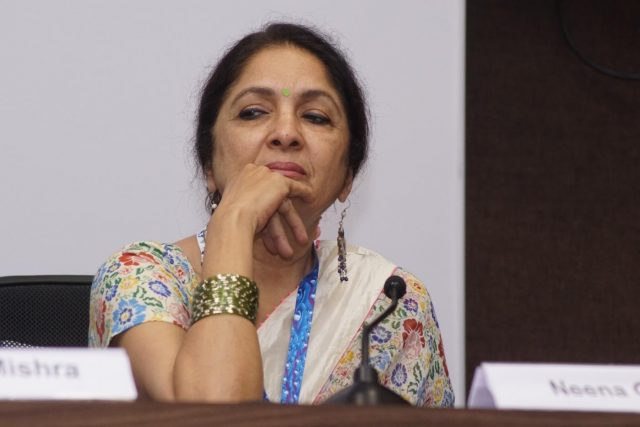 Panaji : Actress Neena Gupta of the film