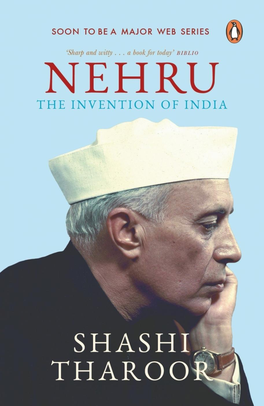 """Nehru: The Invention of India"" Book Cover. by ."