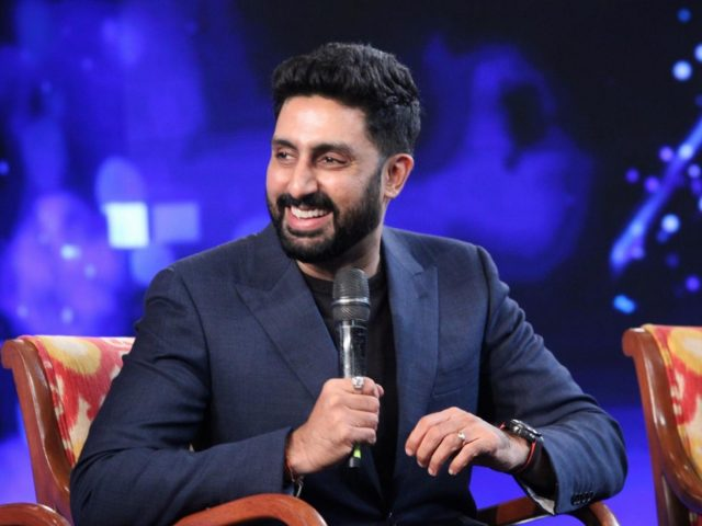 New Delhi: Actor Abhishek Bachchan at