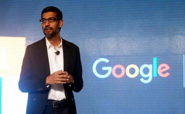 Google global CEO Sundar Pichai.(File Photo: IANS) by .