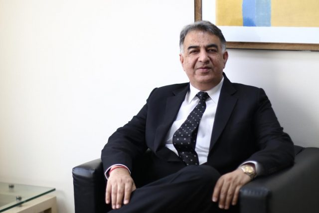 Shailender Kumar, Regional Managing Director, Oracle India. by .