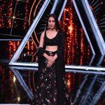 "Mumbai: Actress Sara Ali Khan on the sets of singing-based reality show ""Indian Idol 10"" in Mumbai on Nov 12, 2018. (Photo: IANS) by ."