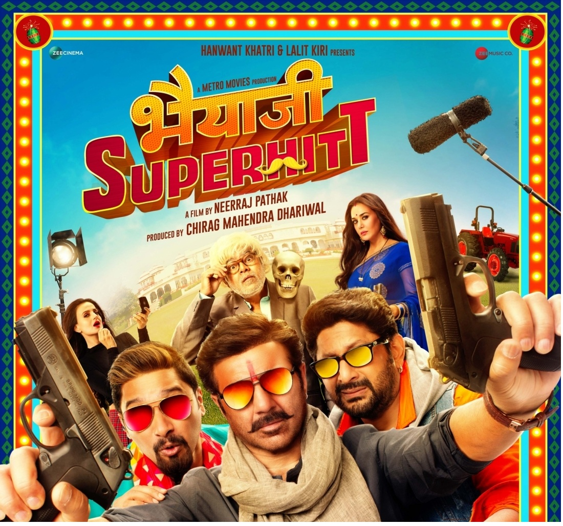 """Bhaiaji Superhit"" poster. by ."