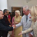 Billionaire diamond trader Nirav Modi (R) shakes hands with TRH Charles, Prince of Wales and Camilla, Duchess of Cornwall. (File Photo: IANS) by .