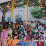 People of different faiths gather at the dargah. by .