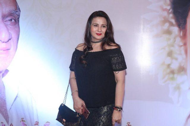 Mumbai: Actress Poonam Dhillon at the
