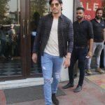 Mumbai: Actor Suniel Shetty's son Aahan Shetty seen at Bandra in Mumbai on Jan 21, 2018.(Photo: IANS) by .