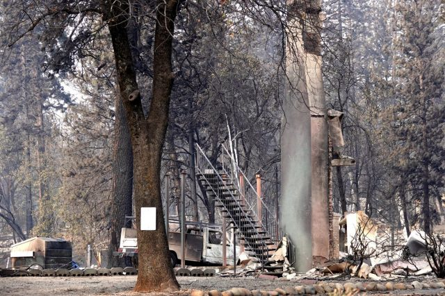 U.S.-CALIFORNIA-BUTTE-WILDFIRE-RAIN EXPECTED by .