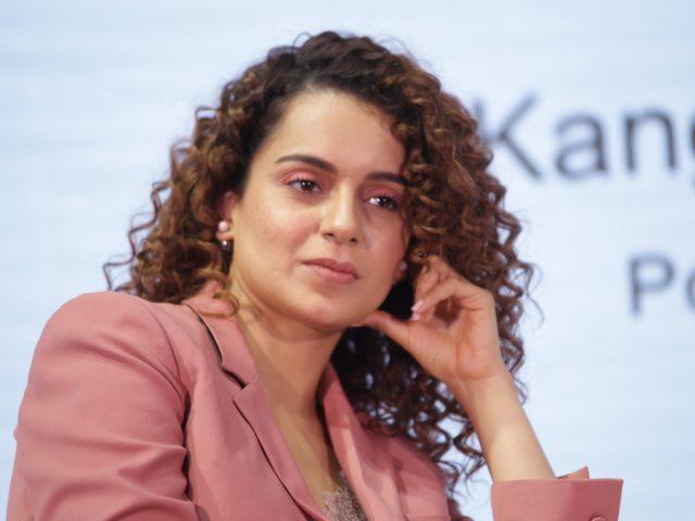 New Delhi: Actress Kangana Ranaut at the Global Forum of the XIN Philanthropy Conference 2018 in New Delhi on Sept 5, 2018. (Photo: Amlan Paliwal/IANS) by .