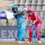 Mumbai: Supernovas' captain Harmanpreet Kaur in action during Women's T20 Challenge Match 2018 between Trailblazers and Supernovas at Wankhede Stadium in Mumbai on May 22, 2018. (Photo: IANS) by .