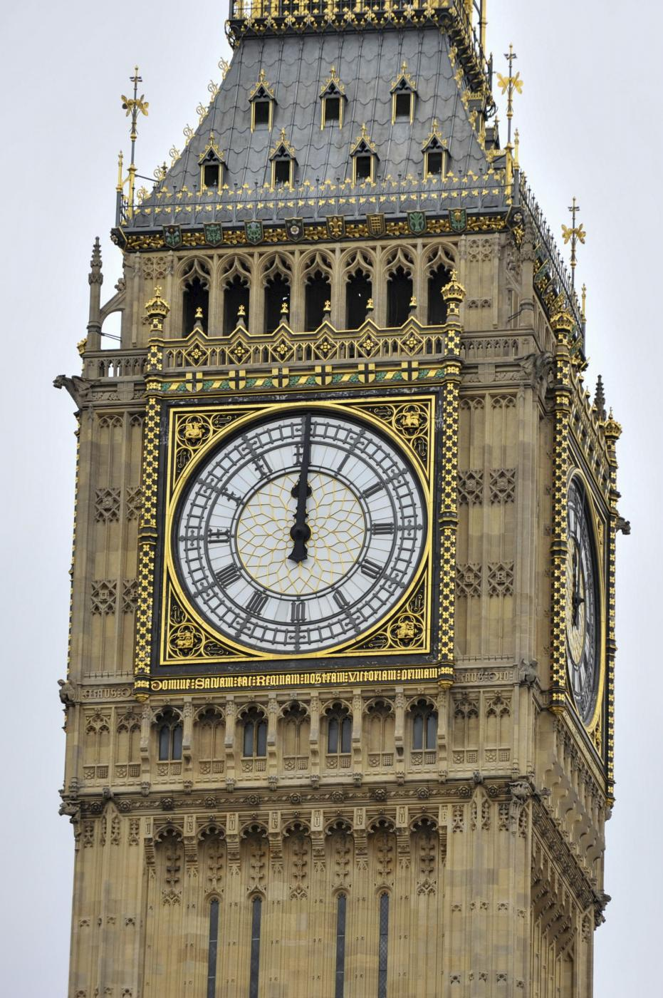 BRITAIN-LONDON-BIG BEN-FALL SILENT by .