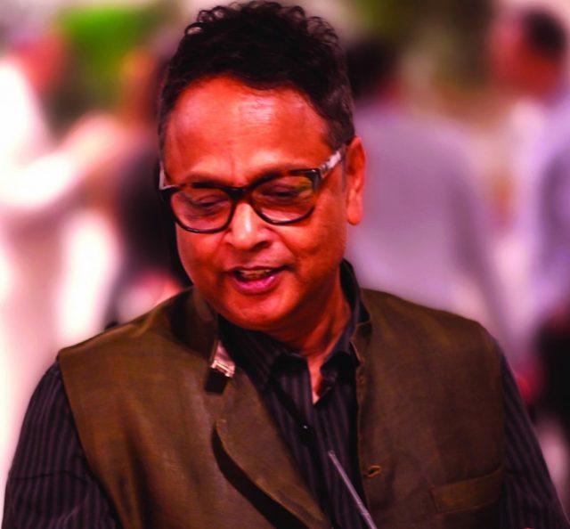 Author Gyan Prakash. by .