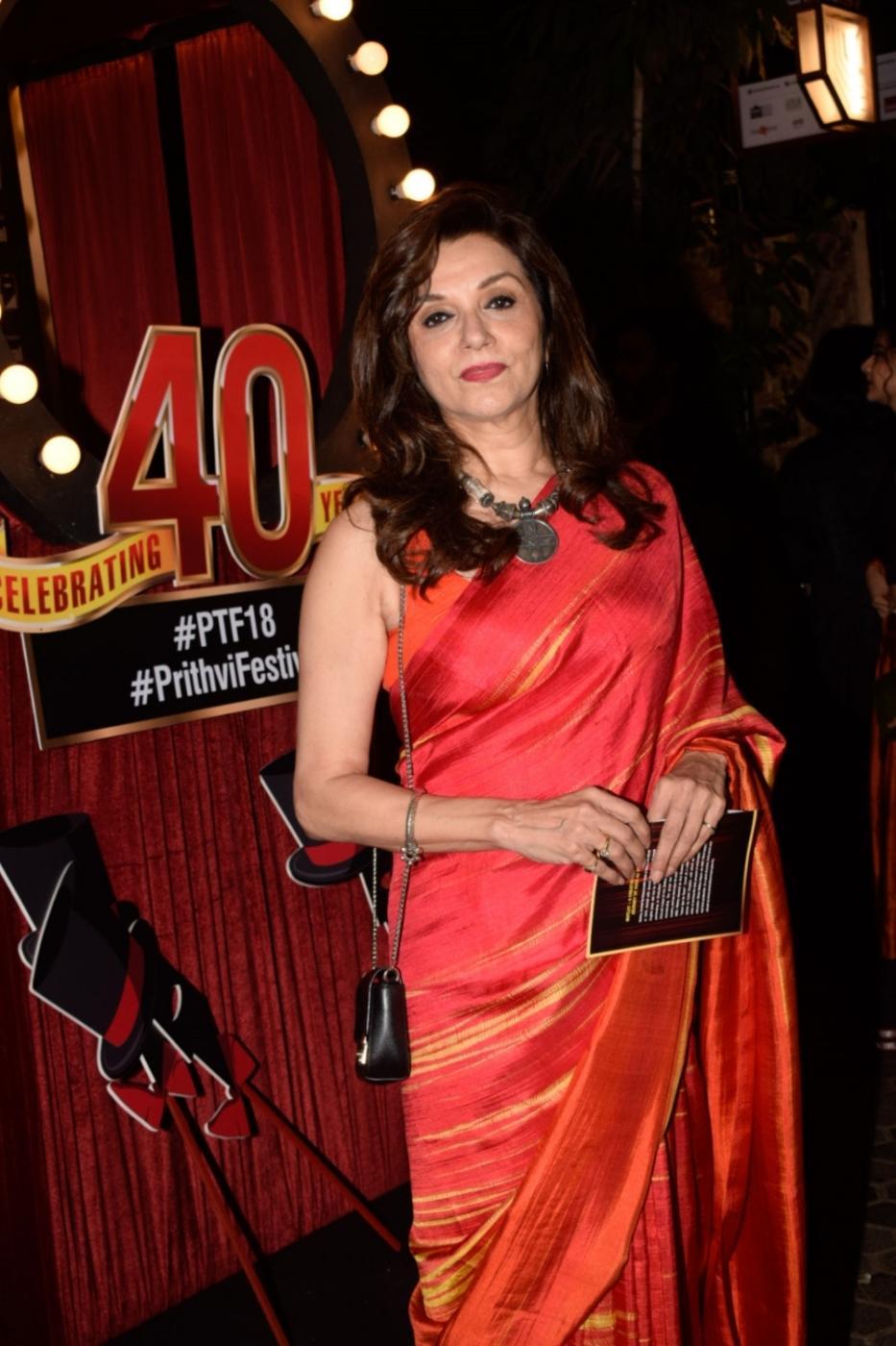 Mumbai: Actress Lillete Dubey at the 40th anniversary celebration of the Prithvi Theatre in Mumbai on Nov 5, 2018. (Photo: IANS) by .