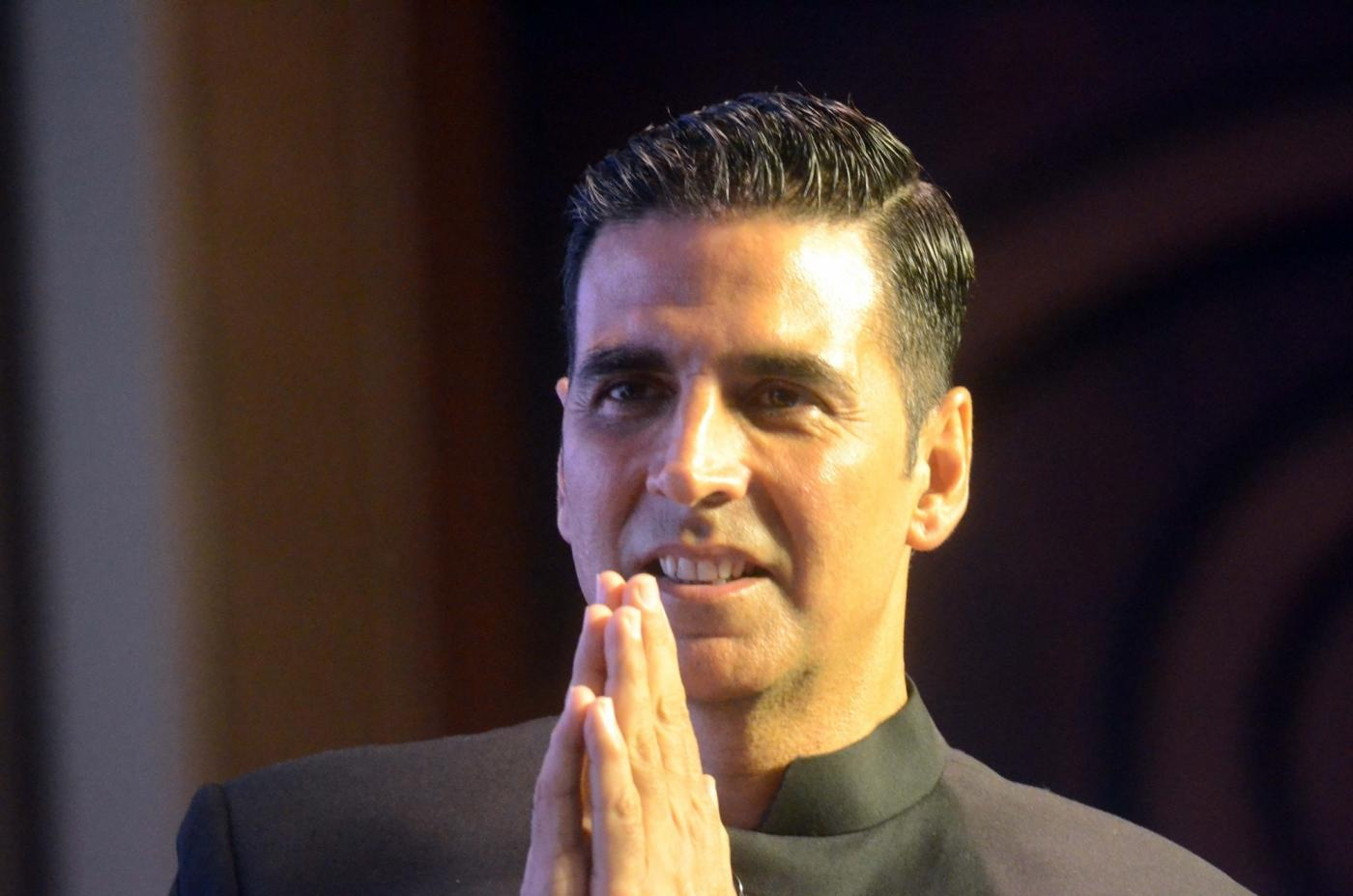 Mumbai: Actor Akshay Kumar during a programme on the occasion of the 'World Toilet Day' in Mumbai on Nov 19, 2018. (Photo: IANS) by .