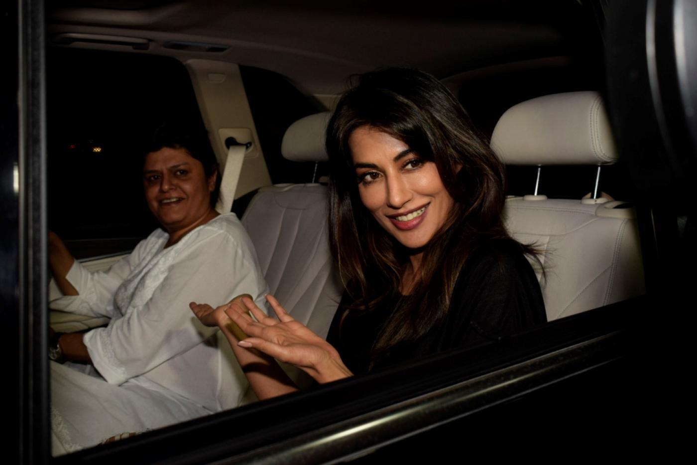 Mumbai: Actress Chitrangada Singh at the special screening of upcoming film