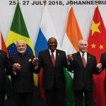 Chinese President Xi Jinping, Prime Minister Narendra Modi, South African President Cyril Ramaphosa, Brazilian President Michel Temer and Russian President Vladimir Putin. (File Photo: IANS) by .