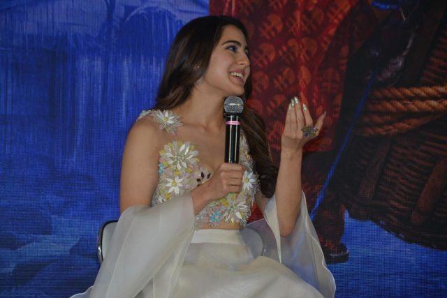 Mumbai: Actress Sara Ali Khan at the trailer launch of her upcoming film