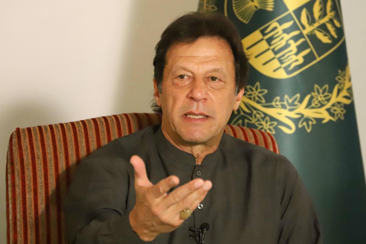 Imran Khan. (File Photo: IANS) by .