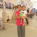 Six-month pregnant Sarita Devi was sent to Gurukul by a court when her husband abandoned her. Now she lives happily here with her son. by .