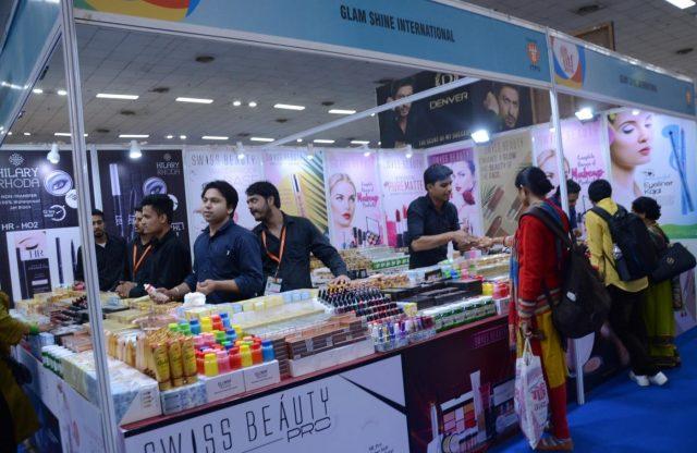 New Delhi: A view of a stall at 38th India International Trade Fair (IITF) at Pragati Maidan in New Delhi, on Nov 14, 2018. (Photo: IANS) by .