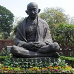 Mahatma Gandhi statue in the Parliament premises. (File Photo: IANS) by .