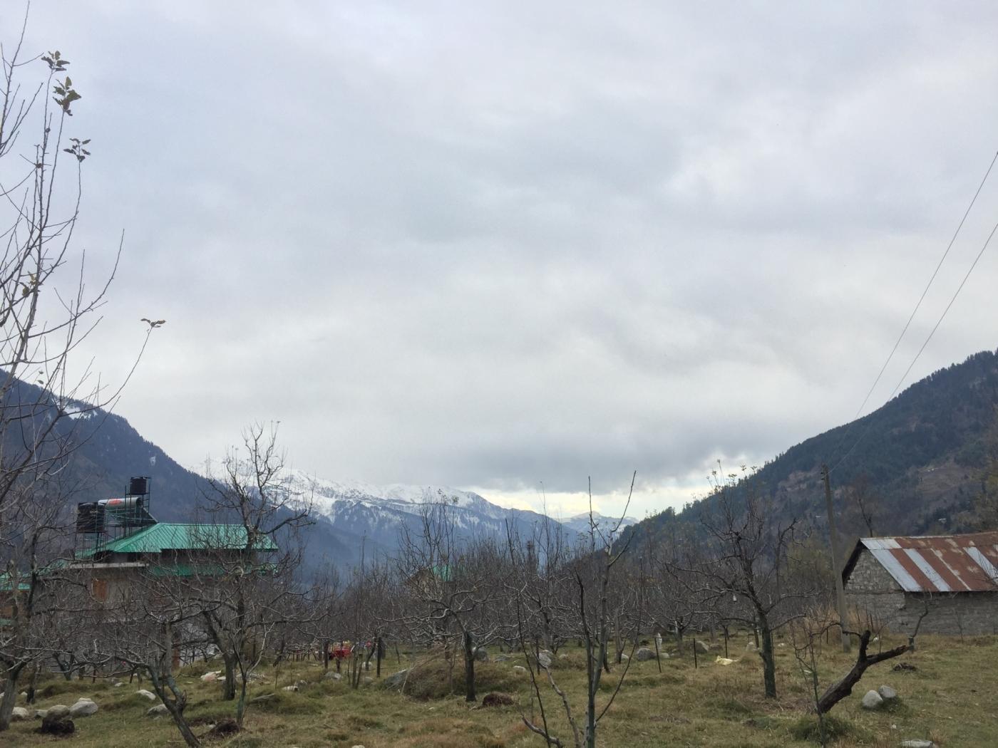 Shanag village. by .
