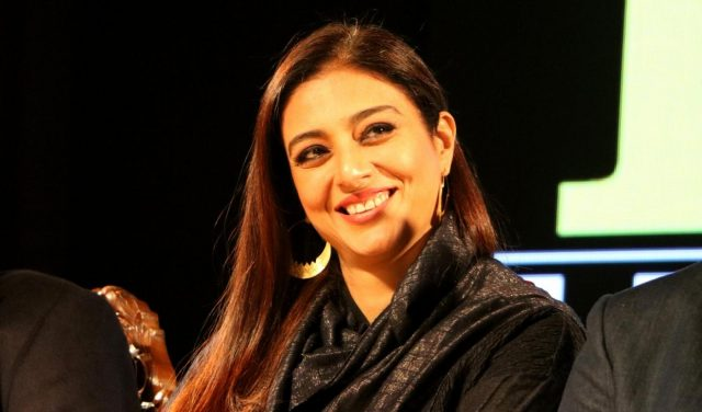 Srinagar: Actress Tabu at the fourth edition of Kashmir World Film Festival (KWFF) in Srinagar, on Nov 28, 2018. (Photo: IANS) by .