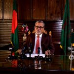 DHAKA, Nov. 8, 2018 (Xinhua) -- Bangladesh's Chief Election Commissioner KM Nurul Huda announces polls schedule in a televised speech to the nation from Dhaka, Bangladesh, on Nov. 8, 2018. Bangladesh's Chief Election Commissioner KM Nurul Huda said Thursday night that the country's 11th parliamentary elections will be held on Dec. 23. (Xinhua/Press Information Department/IANS) by .