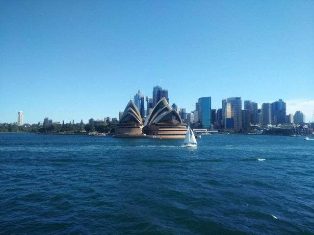 A view of the Sydney Opera House. (Photo: IANS) by .