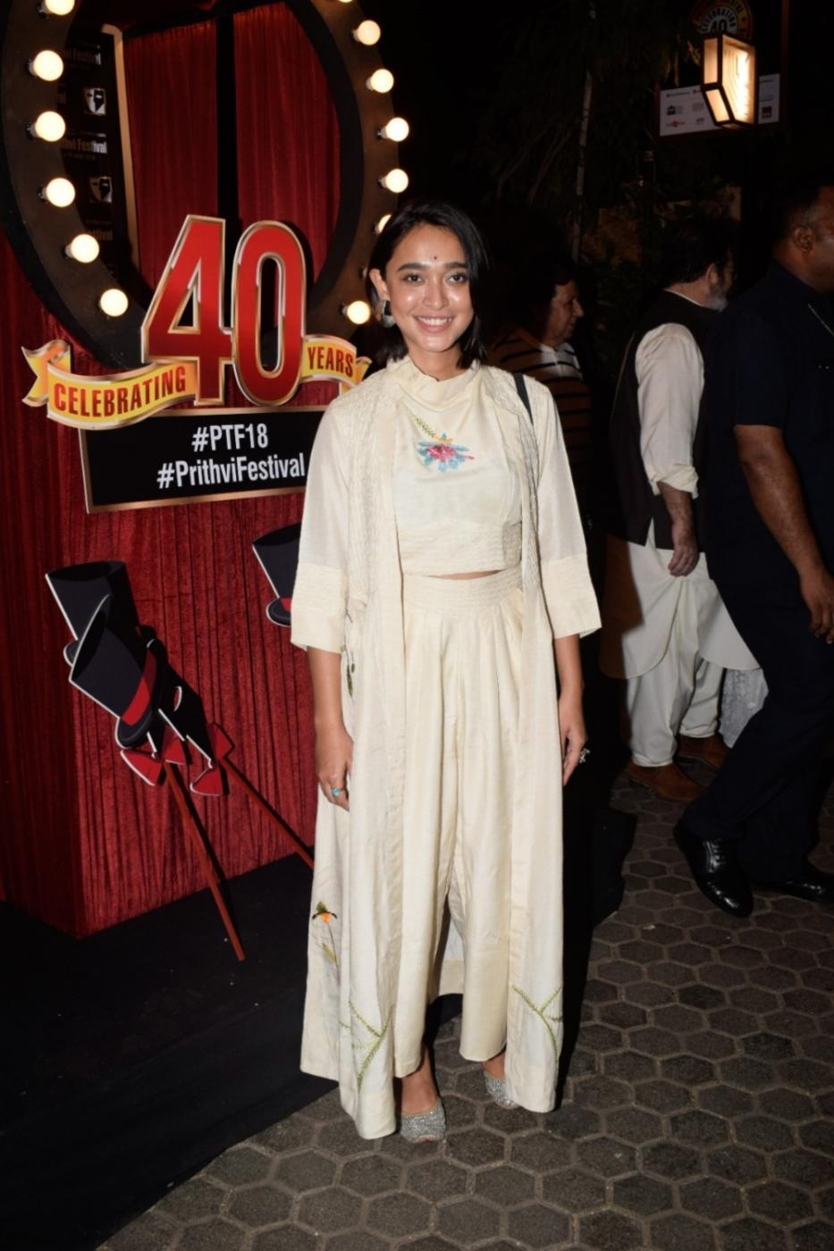 Mumbai: Actress Sayani Gupta at the 40th anniversary celebration of the Prithvi Theatre in Mumbai on Nov 5, 2018. (Photo: IANS) by .