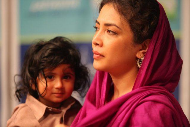 Actress Geetanjali Thapa. by .
