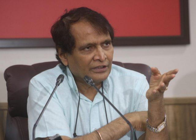 Suresh Prabhakar Prabhu. (File Photo: IANS) by .