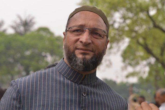 New Delhi: All India Majlis-e-Ittehadul Muslimeen (AIMIM) MP Asaduddin Owaisi at Parliament on March 22, 2018. (Photo: IANS) by .