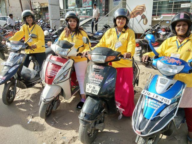 Mathura/Agra: In just over a year, Aatm Nirbhar has expanded to five cities including Mathura, Agra, Bharatpur, Jaipur and Vrindavan training over 1,100 women. by .