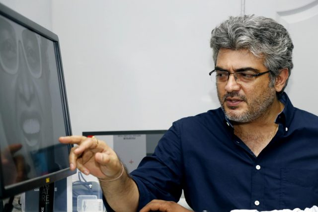 Chennai: Actor Ajith kumar during a shooting`. (Photo: IANS) by .